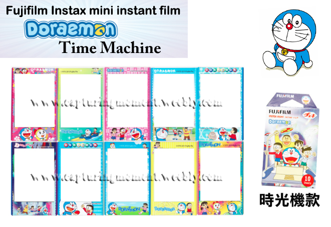 Doreamon Time Machine Instax Mini Film
